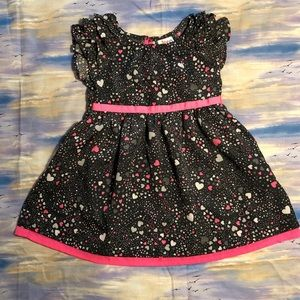 💕 hearts dress💕 toddler size 18M